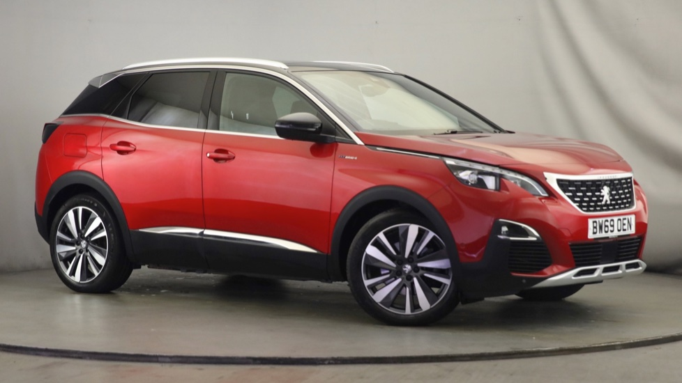 Used Peugeot 3008 SUV SUV 1.6 13.2kWh GT e-EAT 4WD (s/s) 5dr