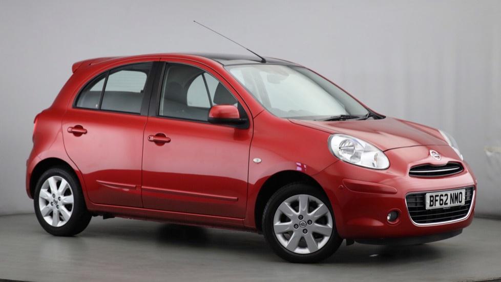 Used Nissan MICRA Hatchback 1.2 DIG-S 12v Kuro 5dr