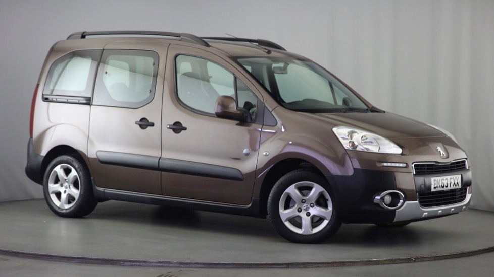 Used Peugeot PARTNER TEPEE MPV 1.6 HDi Tepee Outdoor 5dr