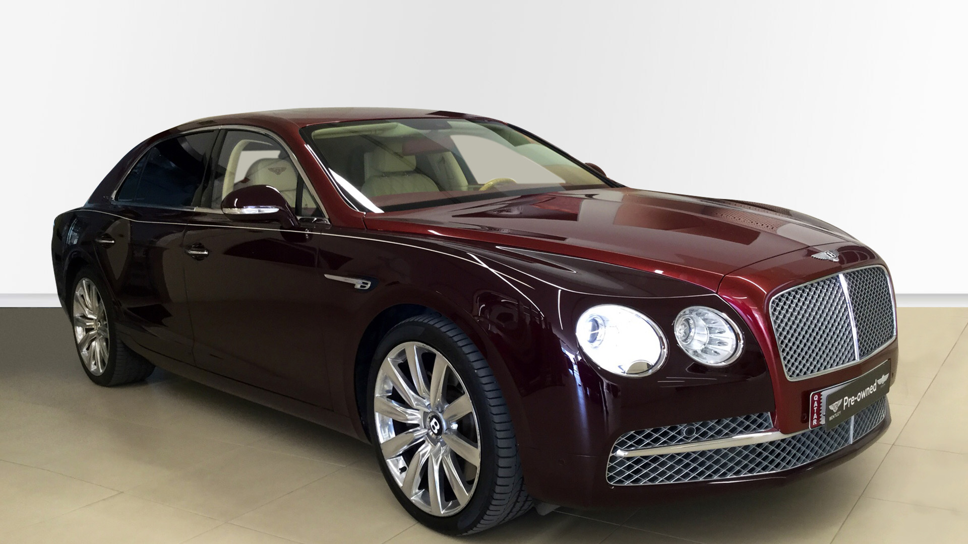 Bentley Used Car Flying Spur W12 Red