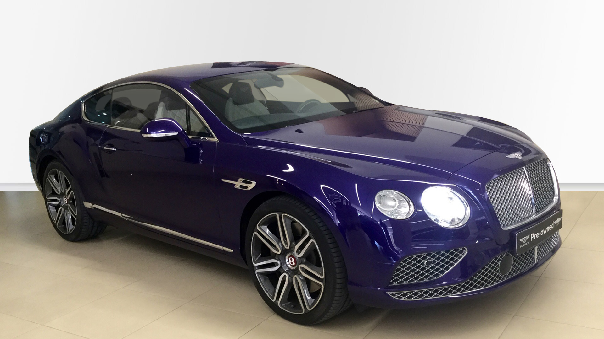 Bentley Used Car Continental Gt V8 Purple