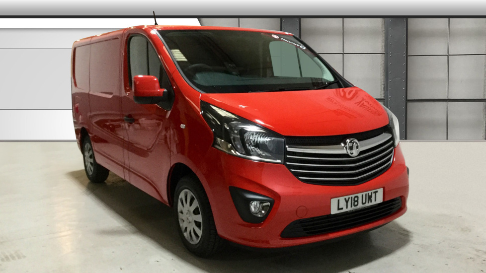 Used Vauxhall VIVARO Unlisted 1.6 CDTi BiTurbo Sportive Refrigerated Van (s/s) 5dr