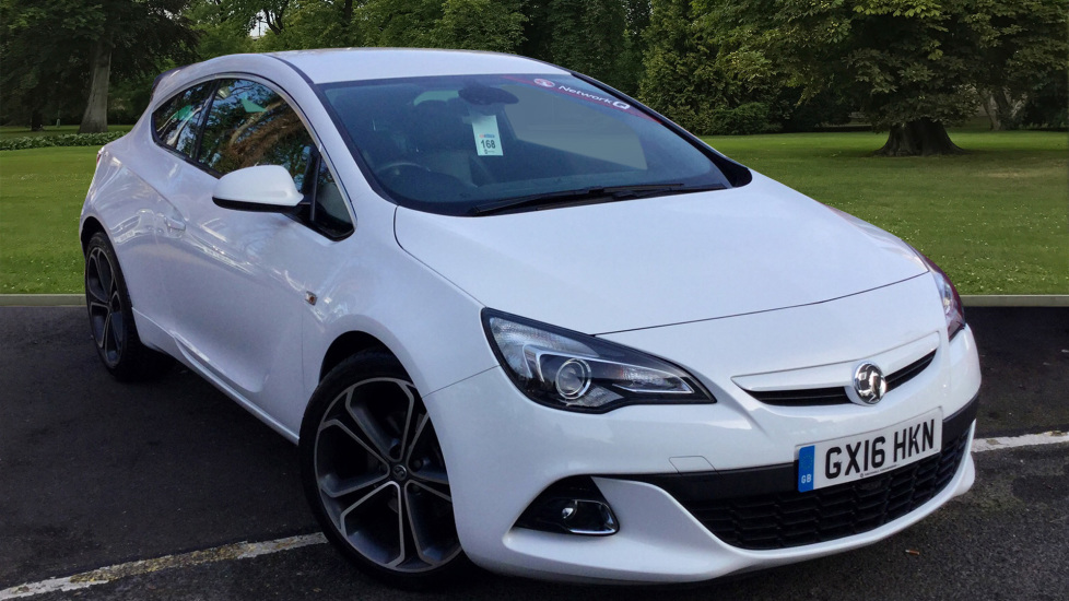 Used Vauxhall ASTRA GTC Coupe 1.4 i Turbo 16v Limited Edition 3dr