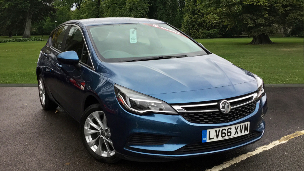 Used Vauxhall ASTRA Hatchback 1.4 i Turbo 16v Energy 5dr