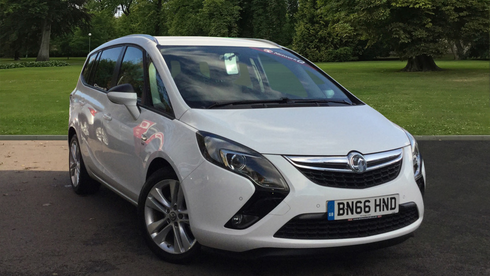 Used Vauxhall Zafira Tourer MPV 1.4i Turbo SRi Tourer 5dr