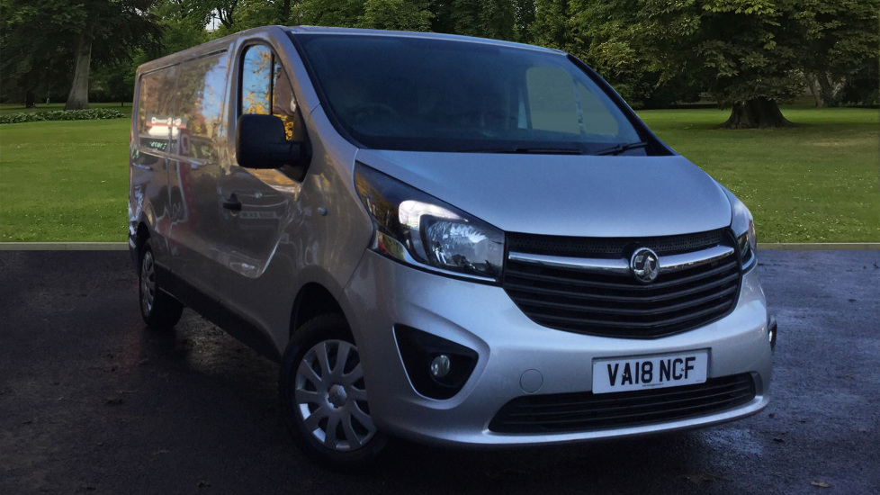 Used Vauxhall Vivaro Panel Van 1.6 CDTi 2900 Sportive L2H1 5dr