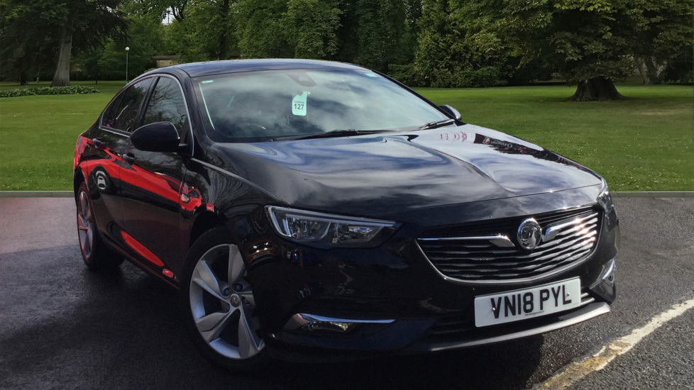 Used Vauxhall Insignia Hatchback 1.5i Turbo SRi Nav Grand Sport (s/s) 5dr