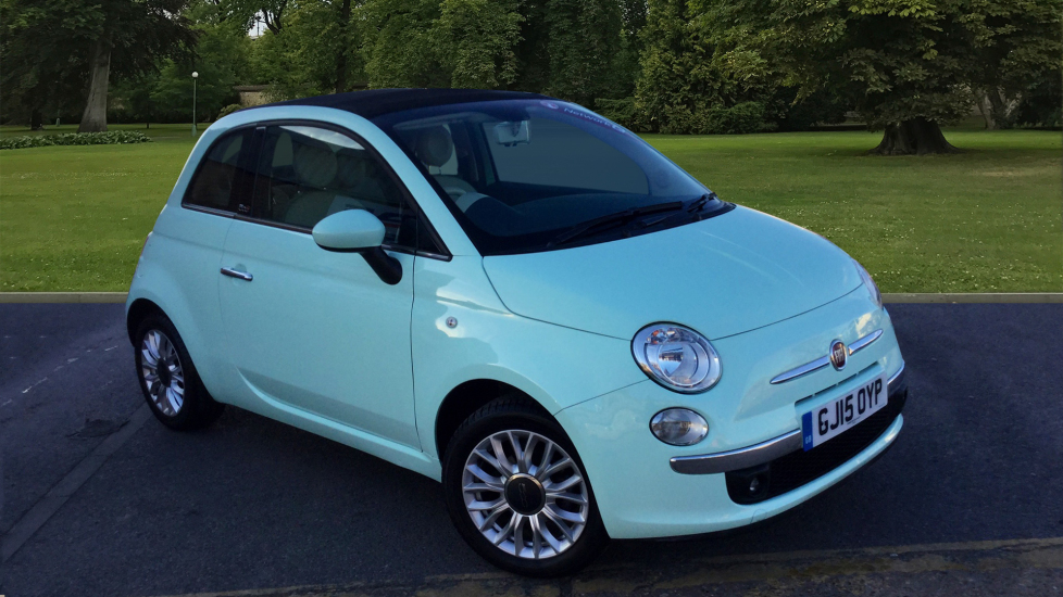Used Fiat 500C Convertible 1.2 Lounge (s/s) 2dr