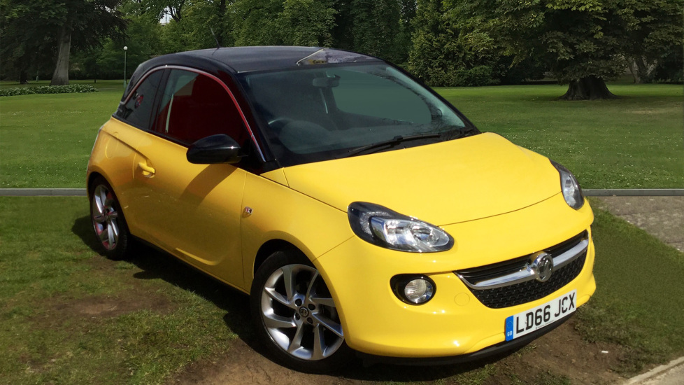 Used Vauxhall ADAM Hatchback 1.4 i VVT 16v SLAM Hatchback 3dr