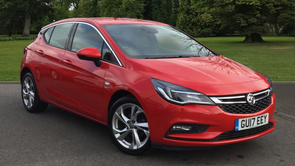 Used Vauxhall Astra Hatchback 1.6 CDTi ecoFLEX SRi (s/s) 5dr
