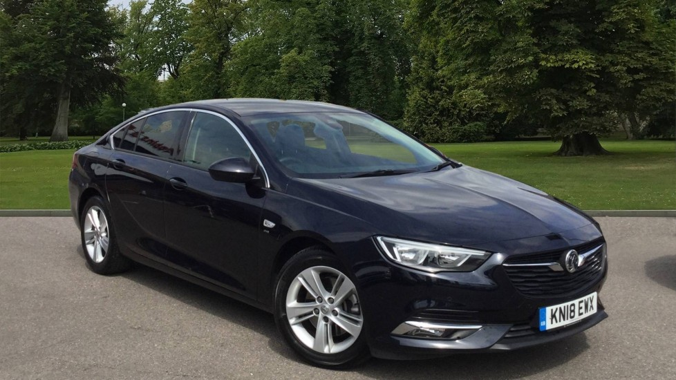 Used Vauxhall Insignia Hatchback 1.6 Turbo D BlueInjection SRi Nav Grand Sport (s/s) 5dr