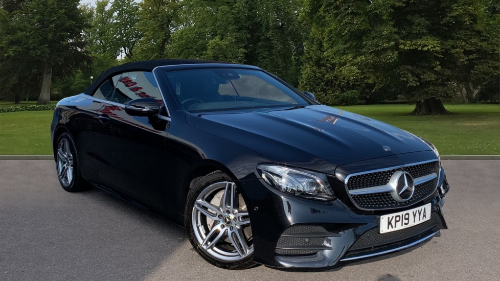Used Mercedes-benz E Class Convertible 2.0 E220d AMG Line Cabriolet G-Tronic+ (s/s) 2dr