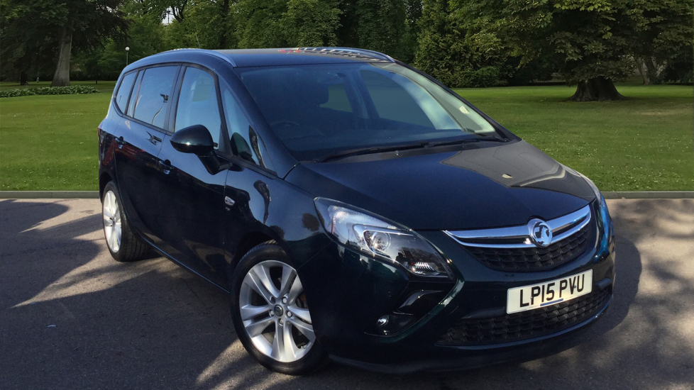 Used Vauxhall Zafira Tourer MPV 1.4 i 16v Turbo SRi (Leather Pack) 5dr