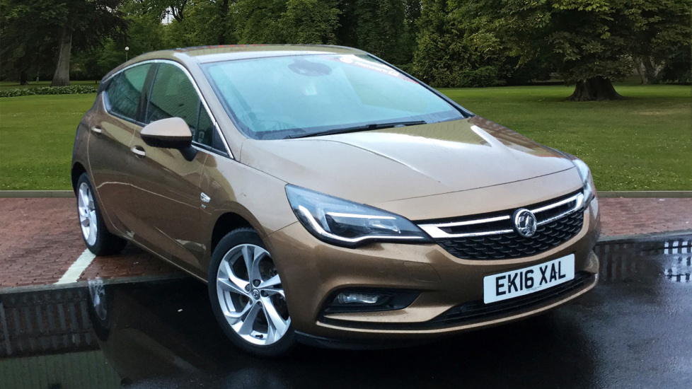 Used Vauxhall ASTRA Hatchback 1.4 i Turbo 16v SRi 5dr