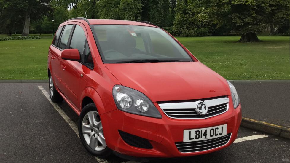 Used Vauxhall Zafira MPV 1.8 i VVT 16v Exclusiv 5dr