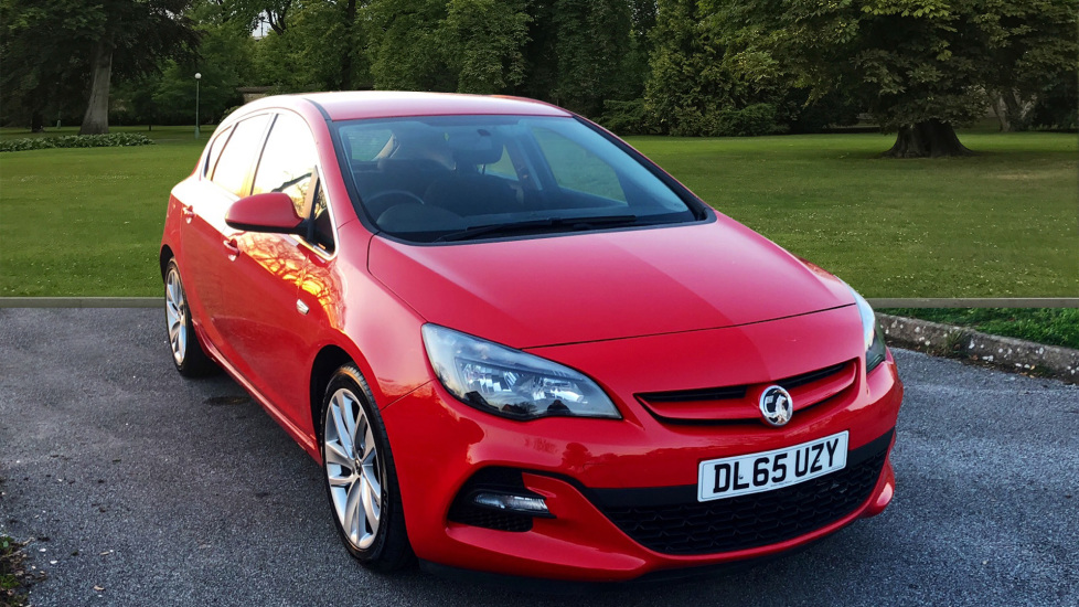 Used Vauxhall ASTRA Hatchback {Edition unlisted}
