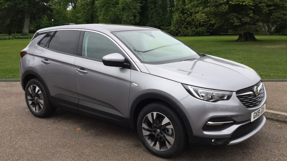 Used Vauxhall Grandland X SUV 1.6 Turbo D BlueInjection Sport Nav (s/s) 5dr