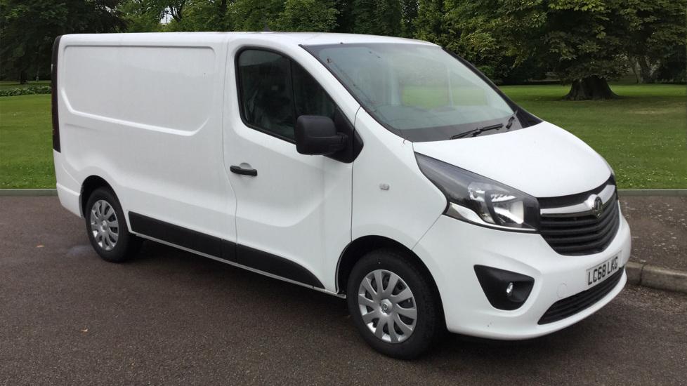 Used Vauxhall VIVARO Panel Van 2700 1.6CDTI BiTurbo 125PS Sportive H1 Van