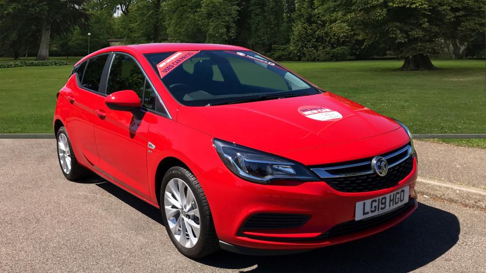 Used Vauxhall Astra Hatchback 1.0i Turbo ecoTEC SE (s/s) 5dr
