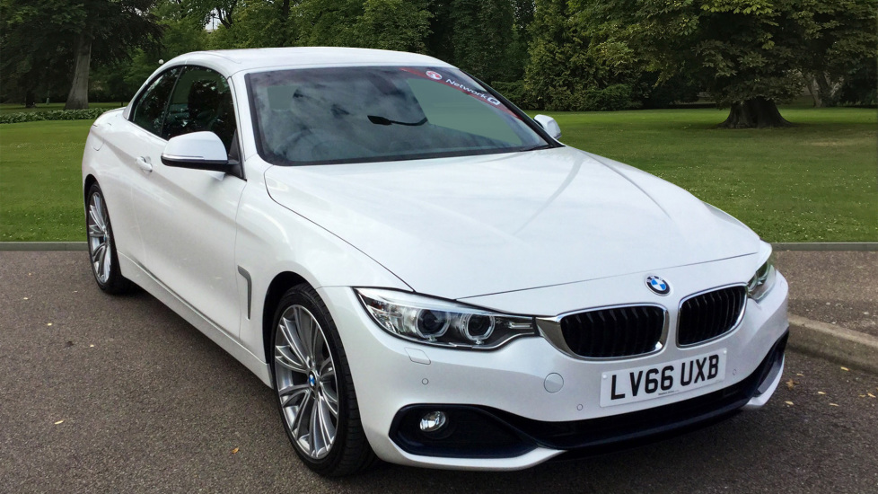 Used BMW 4 SERIES Convertible 2.0 420i Sport 2dr