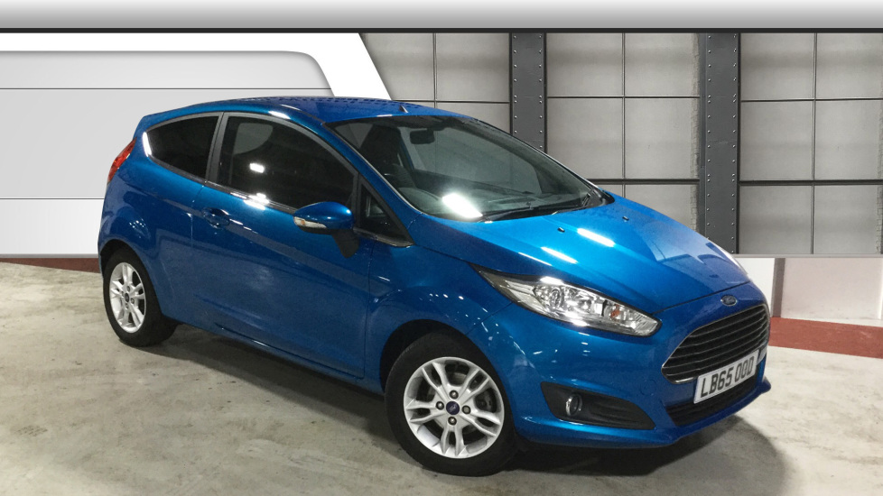 Used Ford FIESTA Hatchback 1.25 Zetec 3dr