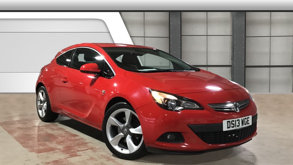 Used Vauxhall Astra GTC Coupe 1.4T SRi (s/s) 3dr