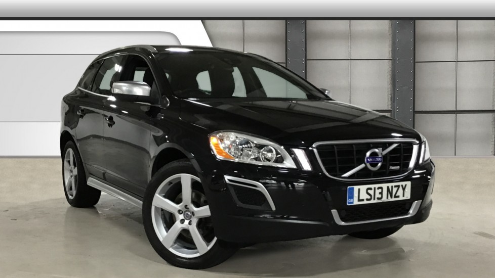 Used Volvo XC60 SUV 2.4 D4 R-Design Nav Geartronic AWD 5dr
