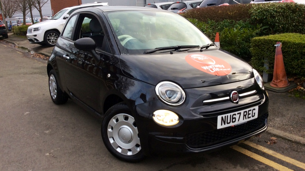 Fiat 500 1.2 Pop 3dr Hatchback (2017) at Warrington Motors Fiat and