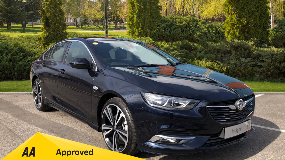 Vauxhall Insignia Grand Sport 2.0 Turbo D SRi Vx-line Nav 170 2019 Diesel Automatic 5 door Hatchback (18MY)