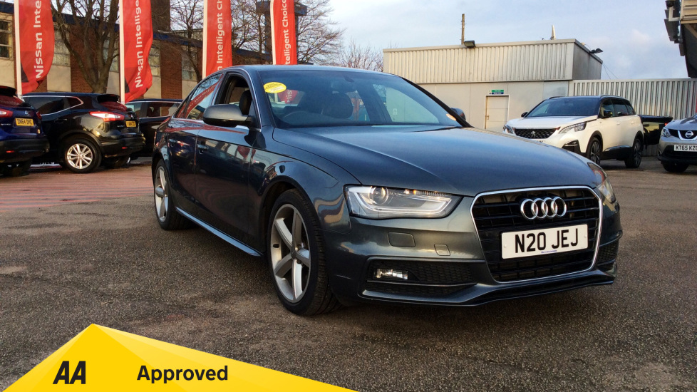 Audi A4 2.0 S Line Tdi Diesel 4 door Saloon (2012) available from Bolton Motor Park Abarth, Fiat and Mazda thumbnail image