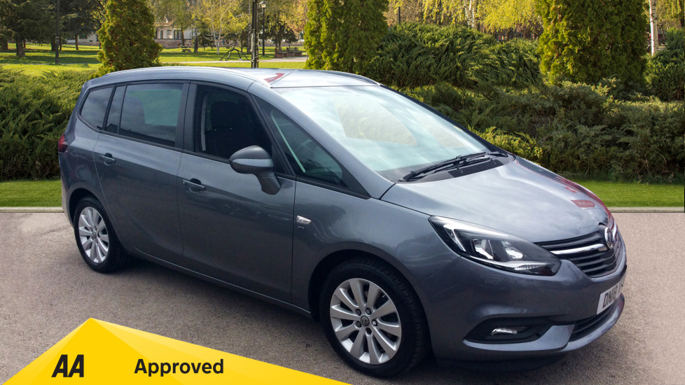 Vauxhall Zafira 1.6 CDTi ecoTEC SRi Nav 5dr Diesel Estate (2018) at Warrington Motors Fiat, Peugeot and Vauxhall thumbnail image