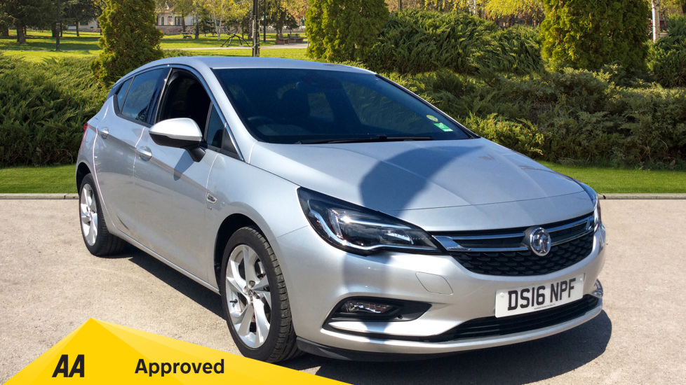 Vauxhall Astra 1.6 CDTi 16V 136 SRi Nav 5dr Diesel Hatchback (2016) at Warrington Motors Fiat, Peugeot and Vauxhall thumbnail image