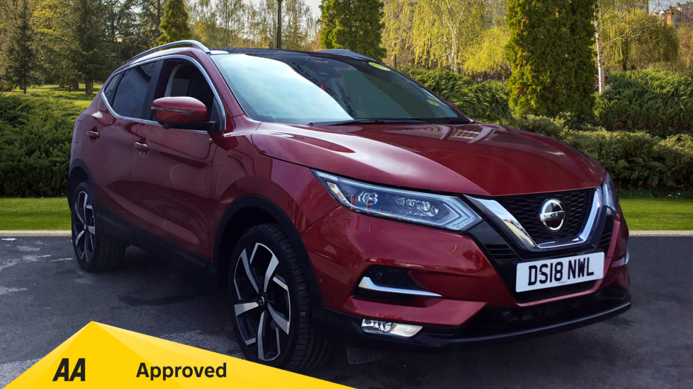 used nissan qashqai red cars for sale motorparks. Black Bedroom Furniture Sets. Home Design Ideas