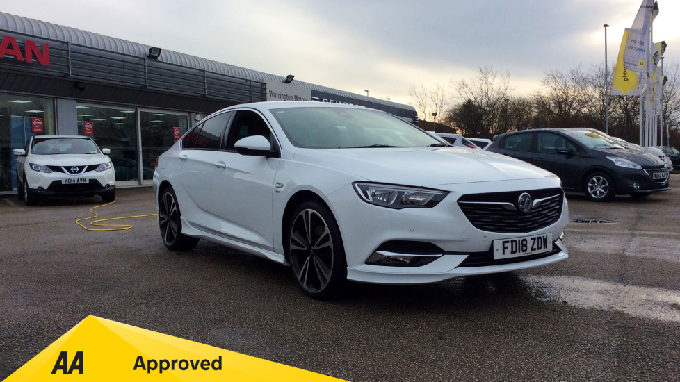 Vauxhall Insignia 2.0 Turbo D SRi Vx-line Nav 5dr Diesel Hatchback (2018) available from Bolton Motor Park Abarth, Fiat and Mazda thumbnail image