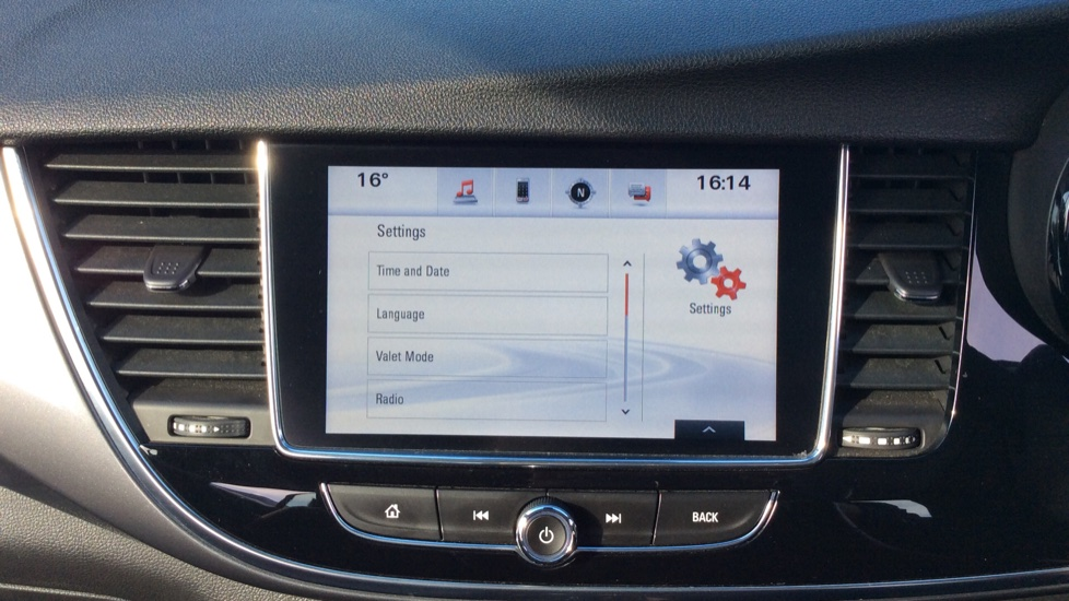 Vauxhall Mokka X 1.4T ecoTEC Design Nav 5dr image 18