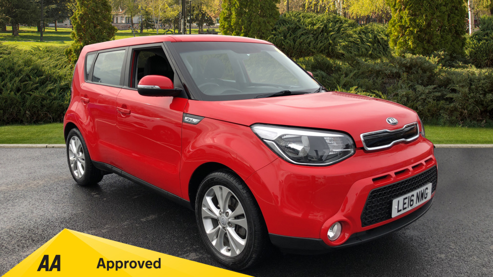 Kia Soul 1.6 GDi Connect 5dr Hatchback (2016)