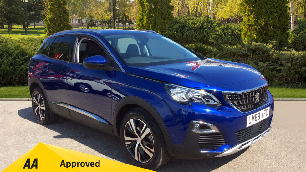 Peugeot 3008 1.6 PureTech 180 Allure EAT8 Automatic 5 door Estate (2018) image
