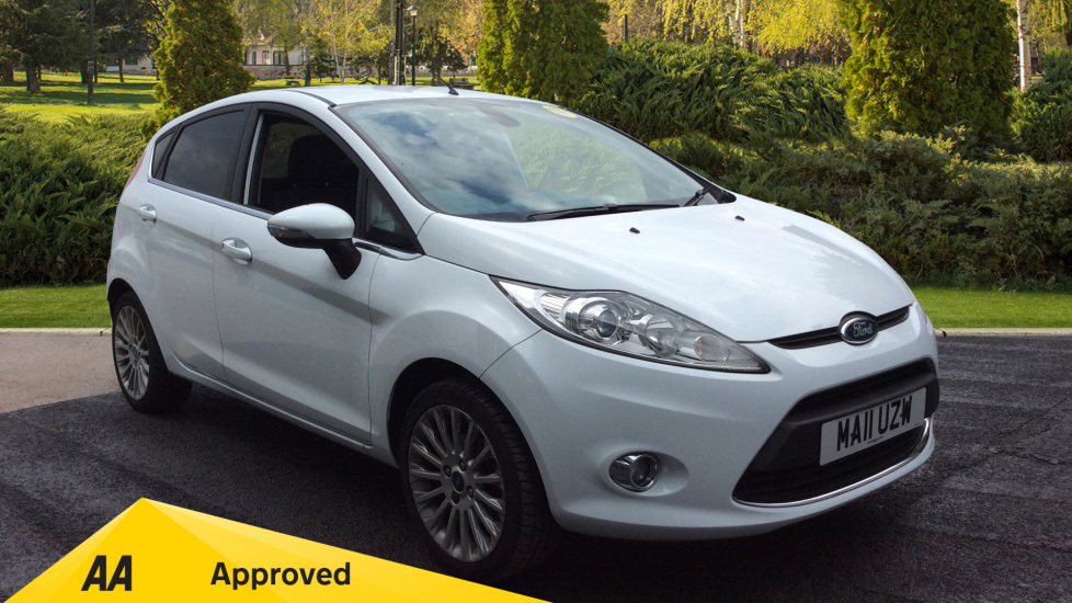 Ford Fiesta 1.4 Titanium 5dr Hatchback (2011) at Warrington Motors Fiat, Peugeot and Vauxhall thumbnail image