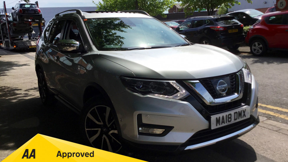 Nissan X-Trail 1.6 dCi Tekna 5dr 4WD [7 Seat] Diesel Estate (2018) at Warrington Motors Nissan and Peugeot thumbnail image