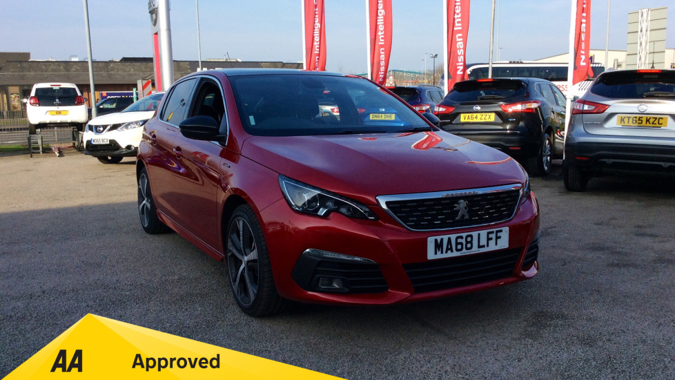 Peugeot 308 1.5 BlueHDi 130 GT Line 5dr Diesel Hatchback (2018) at Warrington Motors Fiat and Peugeot thumbnail image
