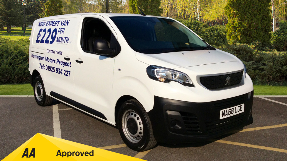Peugeot Expert 2.0 BlueHDi 120 Professional Van 4  4 door (2019) at Warrington Motors Fiat and Peugeot thumbnail image