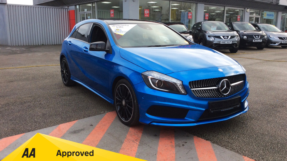 Mercedes-Benz A-Class A220 CDI AMG Night Edition 2.1 Diesel Automatic 5 door Hatchback (2015) image