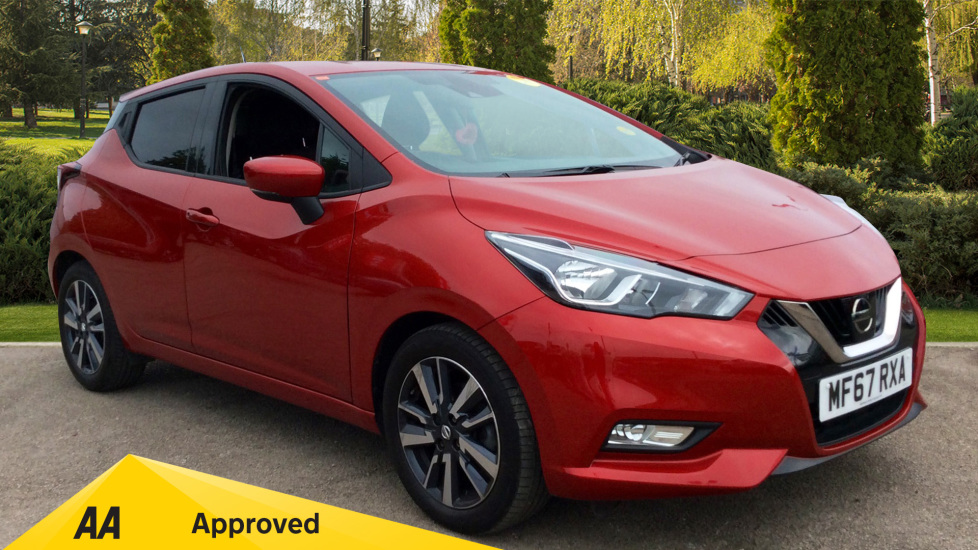 Nissan Micra 0.9 IG-T N-Connecta 5dr - Satellite Navigation, Cruise Control Hatchback (2017) image