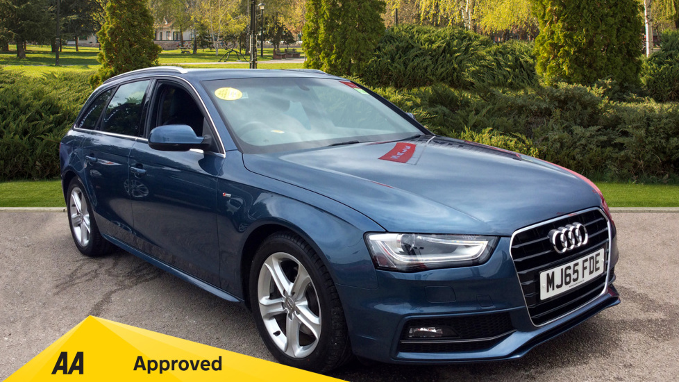 Audi A4 2.0 TDI Ultra 163 S Line 5dr [Nav] Diesel Estate (2015) available from Ford Croydon thumbnail image