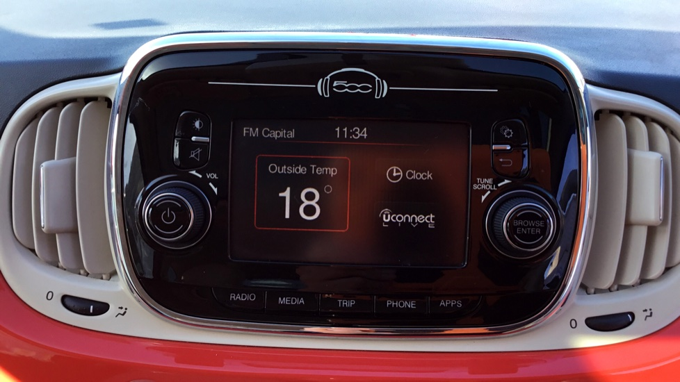Fiat 500 1.2 Lounge ECO 3dr image 18