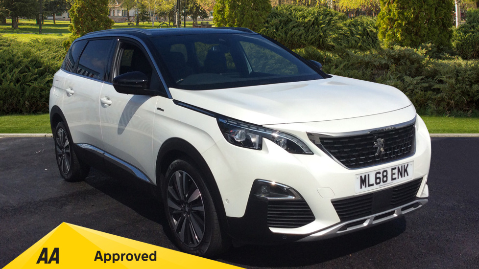 Peugeot 5008 1.5 BlueHDi GT Line Premium 5dr Diesel Estate (2018) at Warrington Motors Fiat, Peugeot and Vauxhall thumbnail image