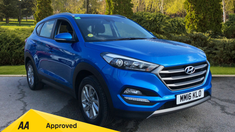 Hyundai Tucson 1.7 CRDi Blue Drive SE Nav 5dr 2WD Diesel Estate (2016) available from Bolton Motor Park Abarth, Fiat and Mazda thumbnail image
