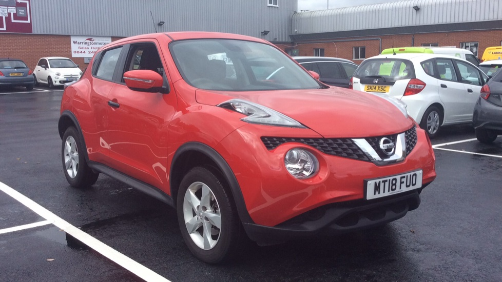 Nissan Juke 1.5 dCi Visia 5dr Diesel Hatchback (2018) at Warrington Motors Fiat, Peugeot and Vauxhall thumbnail image