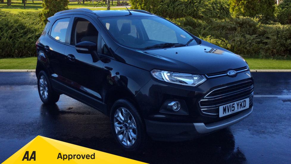 Ford EcoSport 125 BHP 1.0 EcoBoost Titanium 5dr Hatchback (2015) at Warrington Motors Fiat, Peugeot and Vauxhall thumbnail image