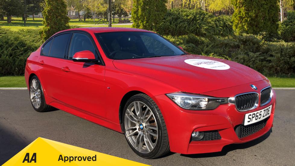 BMW 3 Series 320d M Sport Step [Business Media] 2.0 Diesel Automatic 4 door Saloon (2015)